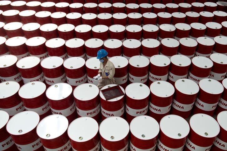 Oil hits three-month highs as strong U.S. consumer spending underpins growth hopes