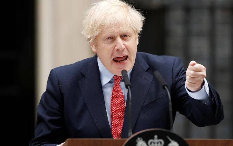 UK is past the peak, says PM Johnson, promising lockdown exit plan
