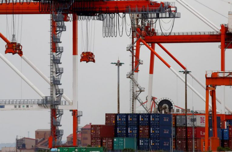Japan's exports fall most since 2009 as U.S. demand slumps